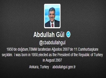 Abdullah Gül'ü Twitter'da 'unfollow' ettiler