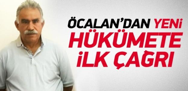Abdullah Öcalan'dan yeni hükümete ilk çağrı