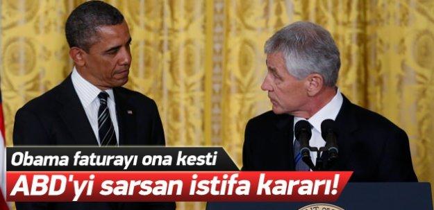 ABD'yi sarsan istifa kararı!