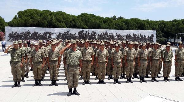 Acemi Askerler Çanakkale Savaş Alanlarını Gezdi