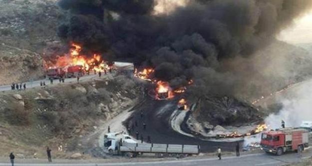 Acı gerçek!12 kişi yanarak can verdi
