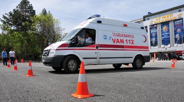 Acil Sağlık Personeline İleri Sürüş Eğitimi