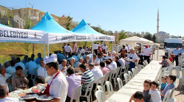 Açılışı Yapılan Parkta 500 Kişiye Kahvaltı