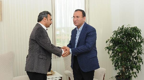 Adalet Bakanı Bozdağ, Çorum Belediye Başkanına Taziye Ziyaretinde Bulundu