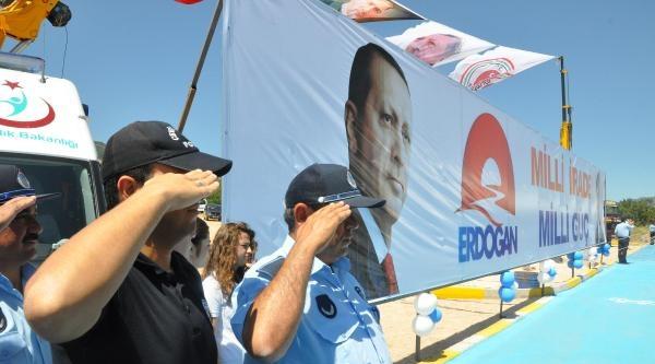 Adalet Bakanı Bozdağ İle Ekonomi Bakanı Zeybekci, Denizli'de