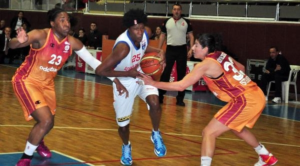 Adana Botaşspor-Galatasaray: 54-77