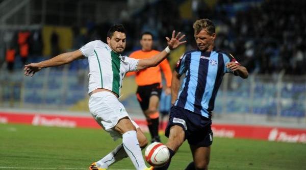 Adana Demirspor-Bursaspor Maçi Fotoğraflari