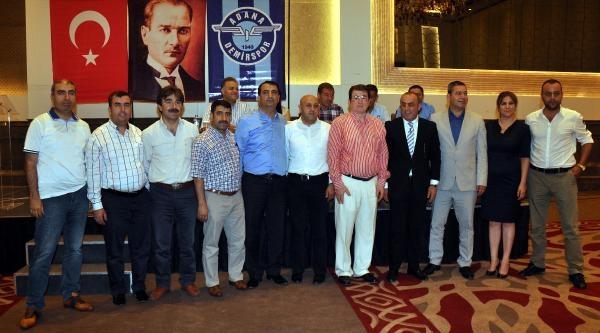 Adana Demirspor'da Aydoğdu Yeniden Başkan