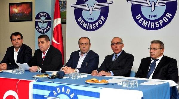 Adana Demirspor'da Görev Bölümü Yapildi