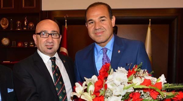 Adana Tsyd'den Başkan Sözlü'ye Ziyaret