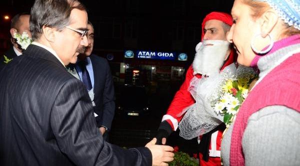 Adana Valisi Coş, Yeni Yila Karakolda Girdi