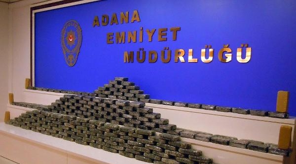 Adana'da 127 Kilo Eroin Ele Geçirildi
