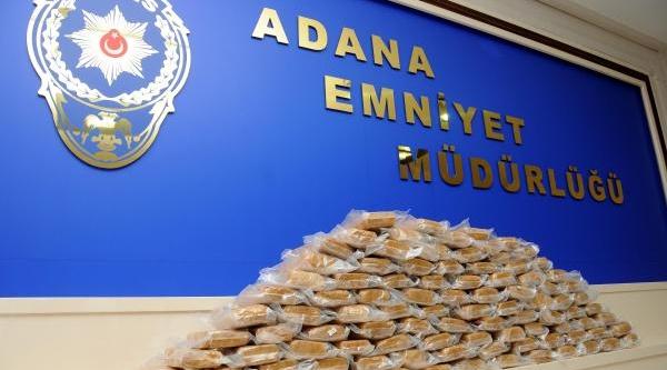 Adana'da 52 Kilo Eroin Ele Geçirildi