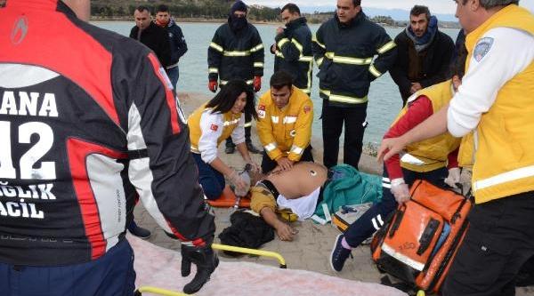 Adana'da Baraj Gölünde Tekne Batti: 2 Kayip- Ek Fotoğraflar
