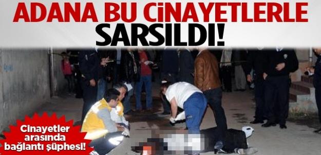 Adana'da çifte cinayet şoku!