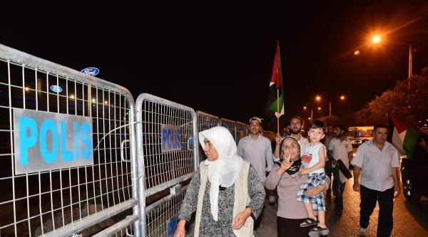 Adana'da İsrail Protestosu