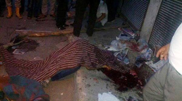 Adana'da Korsan Gösteriye Polis Müdahalesi: 1 Gösterici Öldü (fotoğraf)