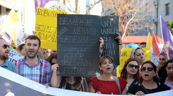 Adana'da Liselilerden Soma'da Ölenlere Anma (4)