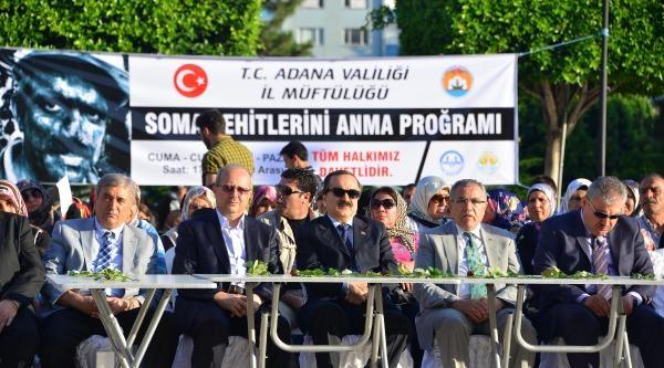 Adana'da Liselilerden Soma'da Ölenleri Anma (5)