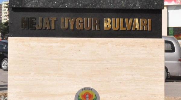 Adana'da Nejat Uygur Bulvari Açildi