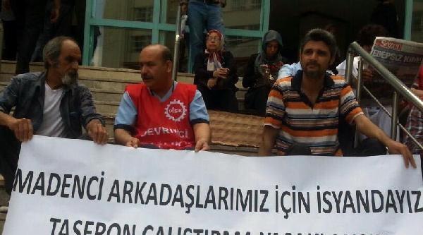 Adana'da Ölen Madencileri Anıldı
