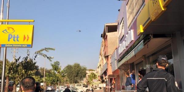 Adana'da Ptt Bank Şubesi'nde Silahli Soygun