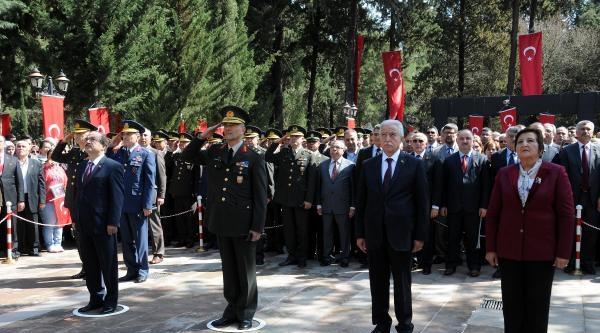 Adana'da Şehitler Anıldı