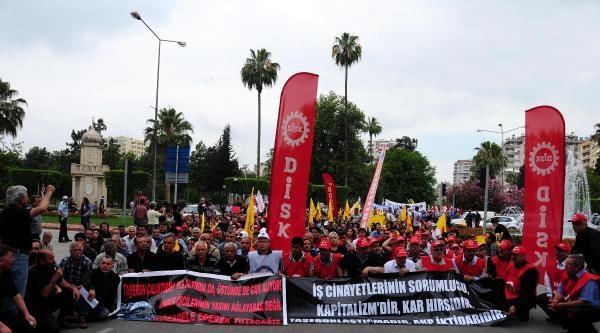 Adana'da Soma Protestosu