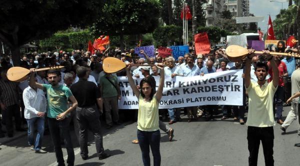 Adana'da Uğur Kurt Yürüyüşü