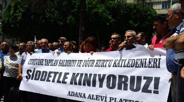 Adana'da, Uğur Kurt'un Öldürülmesine Alevilerden Tepki