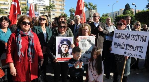 Adana'da 'yolsuzluğunuz, Yoksulluğumuz' Eylemi