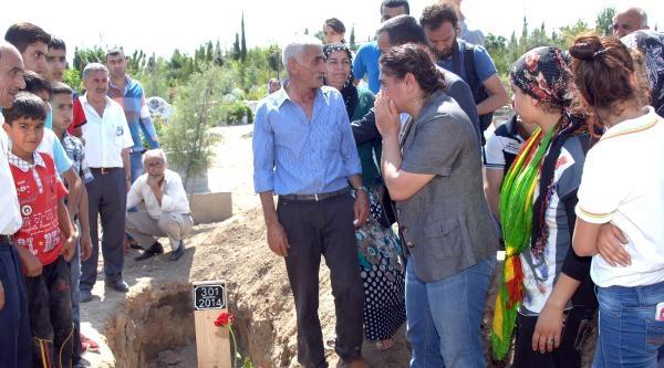 Adana'daki Lice Gösterisinde Ölen İbrahim Aras'ın Cenazesinde Gerginlik (3)