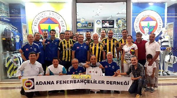 Adanalı Fenerbahçelilerden 'formamızın Sponsoruyuz' Etkinliği