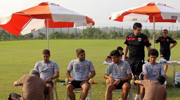 Adanasporlu Futbolcular Dayanıklılık Testinden Geçti