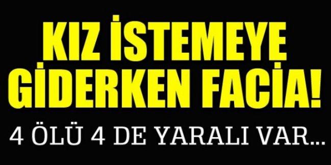 Adapazarı Horozlu mevki TEM Otoyolu'nda trafik kazası: 4 ölü 4 yaralı