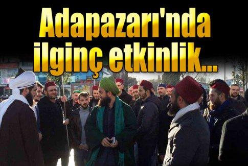 Adapazarı'nda 'Osmanlıyı istiyoruz' yürüyüşü