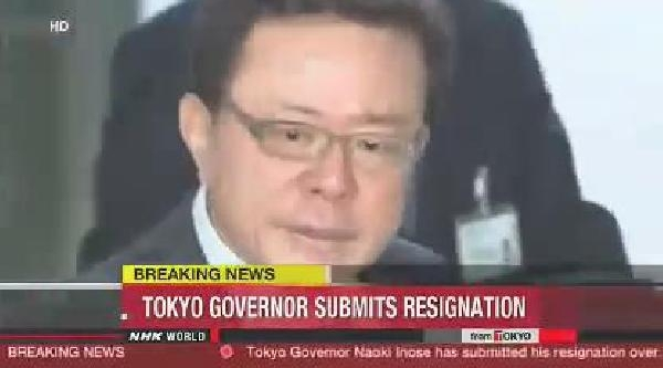 Adi Rüşvet Iddialarina Karişan Tokyo Valisi Istifa Etti