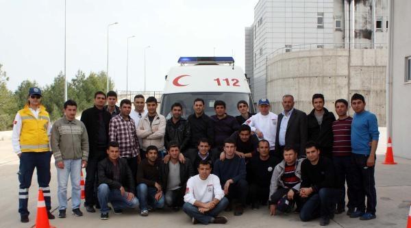Adıyaman'da 112 Personellerine İleri Sürüş Eğitimi
