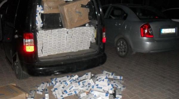 Adiyaman'Da 57 Bin 420 Paket Kaçak Paket Sigara Ele Geçirildi
