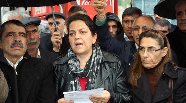 Adıyaman'da Bdp Ve Hdp Üyelerinden Saldırı Protestosu