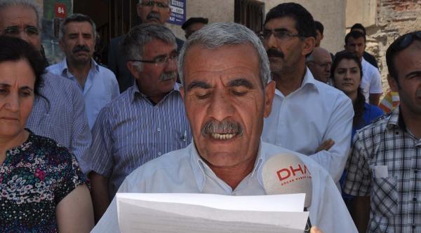 Adıyaman'da Bdp'lilerden Barzani'ye Tepki