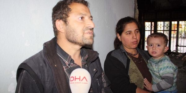 Adiyaman'Da Evi Yanan Aile Yardim Bekliyor