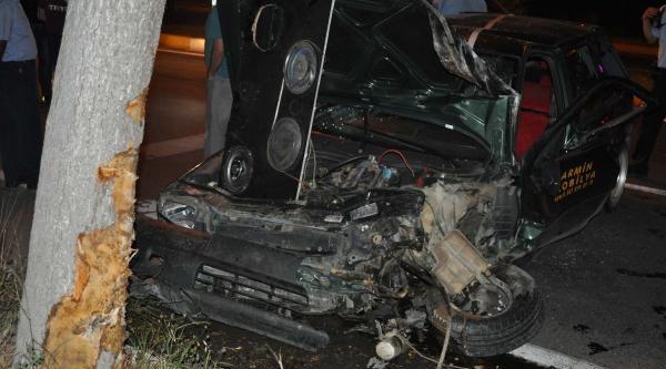 Adıyaman'da İki Ayrı Kazada 8 Kişi Yaralandı