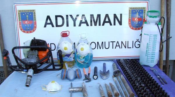 Adıyaman'da Kaçak Kazı İddiasina 3 Gözaltı