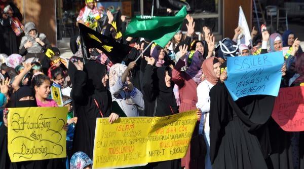 Adıyaman'da Mısır Protestosu