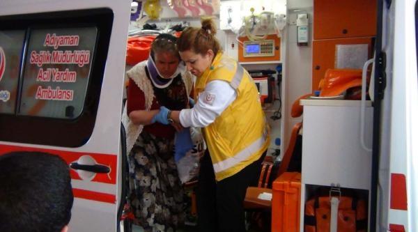 Adıyaman'da Otomobil Devrildi: 6 Yaralı