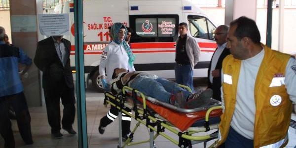 Adiyaman'Da Otomobilin Çarptiği Çocuk Yaralandi