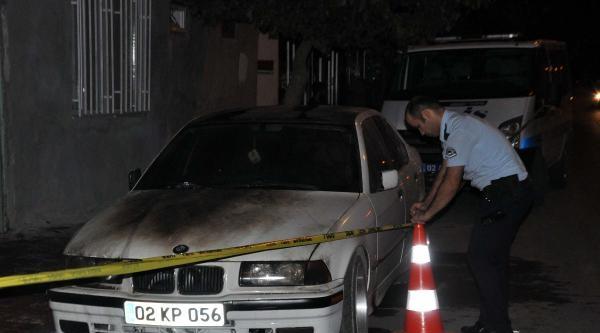 Adıyaman'da Park Halindeki Otomobil Kundaklandı