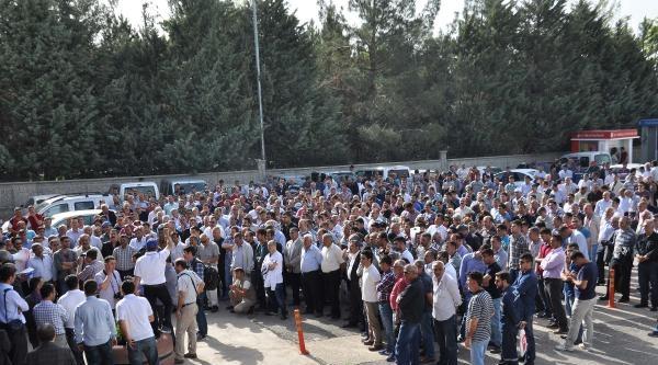 Adıyaman'da Tpao İşçileri Eylem Yaptı