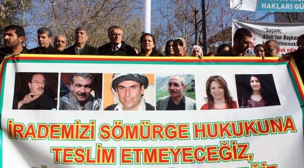 Adiyaman'da 'tutuklu Vekillere Özgürlük' Eylemi